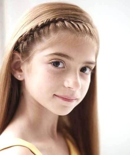 Tiara Braids Elegant Hairstyles