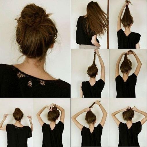 elegant-hairstyles-easy-messy-bun-hairstyle-19
