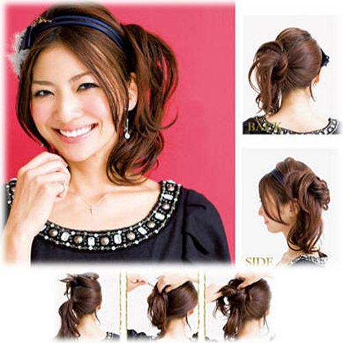 elegant-hairstyles-korean-and-japanese-short-hair-prom