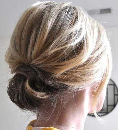 Sideways Twists for Short Hair