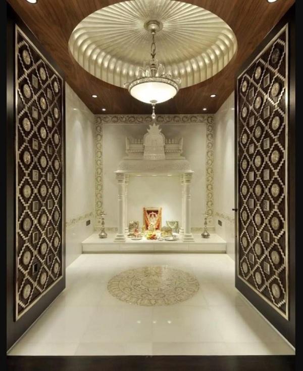 Latest Pooja Room Designs