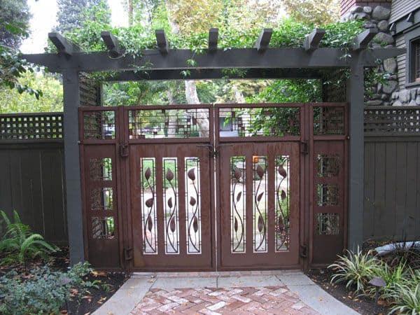 Decorative Iron Gates