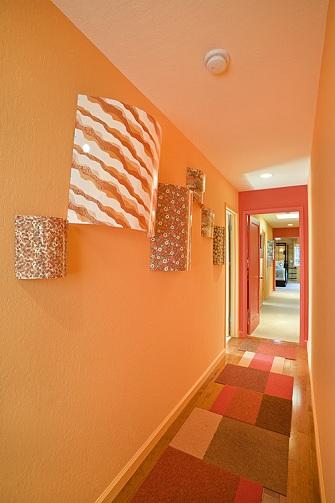 Modern Hallway Painting Design