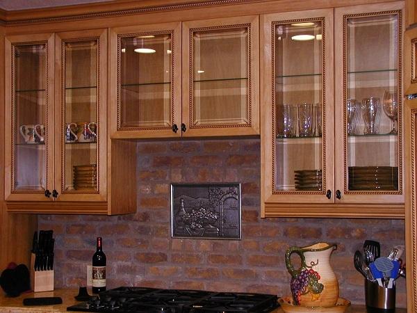 Kitchen Cupboard Glass Design