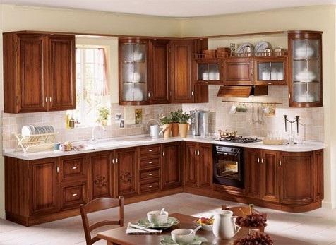 Chinese Kitchen Cupboard Design
