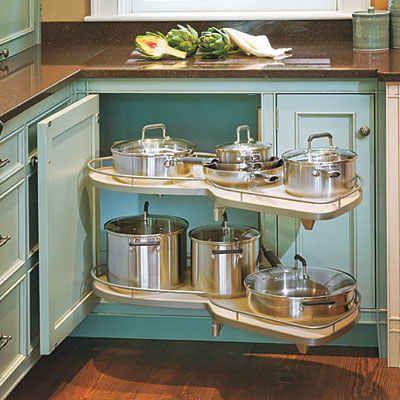 Adjustable Kitchen Cupboard Design