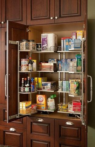 Simple Shelving Kitchen Cupboard Design