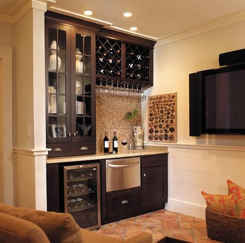 Wine Shelf Kitchen Cupboard Design