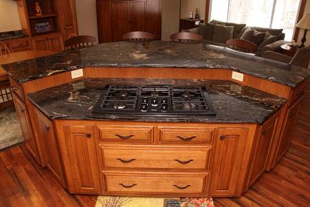 Hexagonal Kitchen Cupboard Design