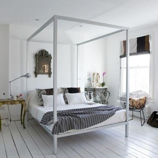 eclectic bedroom desgn