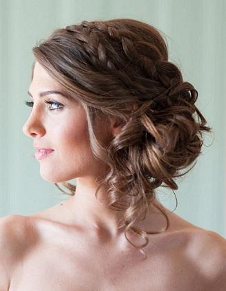 Bridesmaid Hairstyles 11