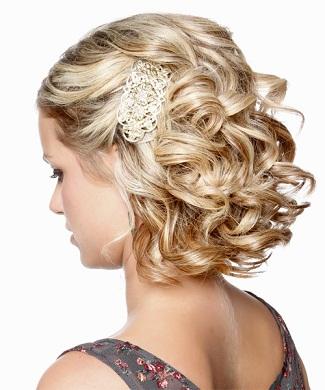 Bridesmaid Hairstyles 13