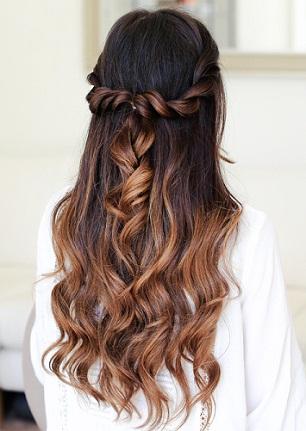 Bridesmaid Hairstyles 10