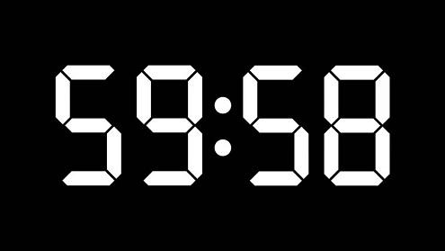 Soft Version of Countdown Clocks