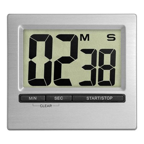 Square Silver Electronic Countdown Clocks