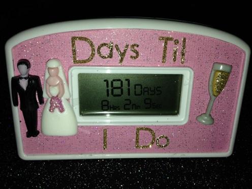 Best Wedding Personalized Countdown Clocks
