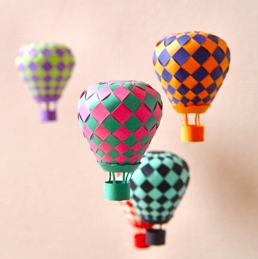 Paper Parachute 3D Design