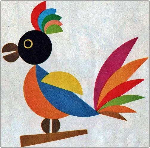 Paper Cuckoo Bird Design