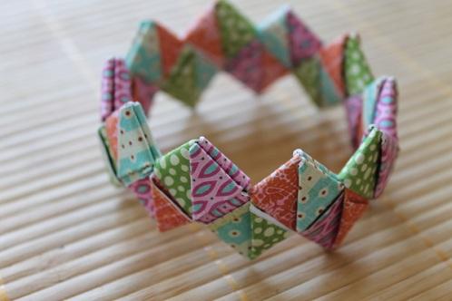 Paper Crafted Bracelet