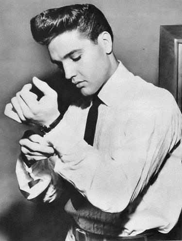 Elvis Pompadour