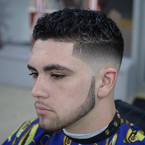 Short Curly Pompadour