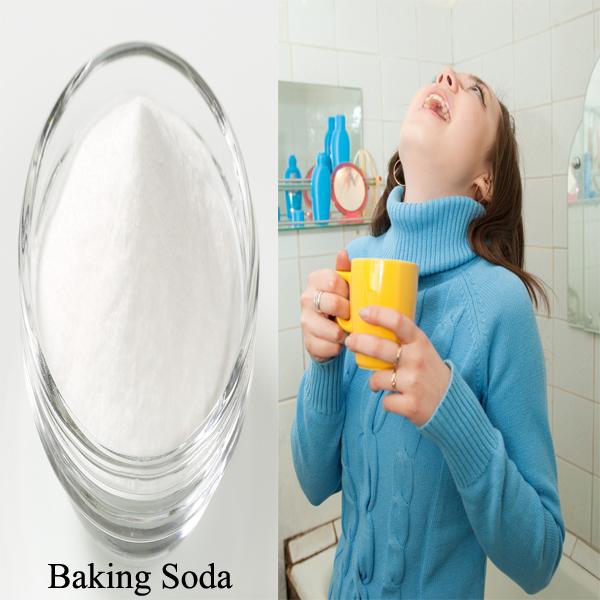 Baking Soda Gargle
