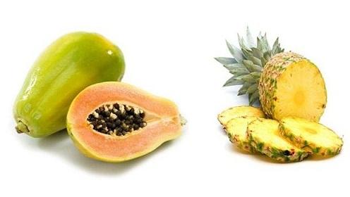 Papaya Pineapple Mask