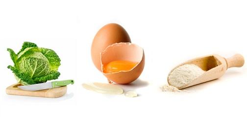 Cabbage Egg Face Mask