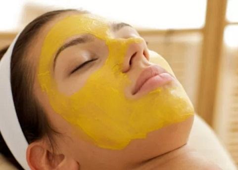 Mango and Vitamin e Face Mask