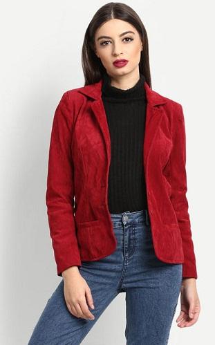 Scarlett Red blazer
