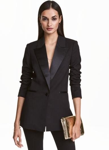 Tuxedo Jacket Blazer For Women
