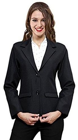 Black formal blazer