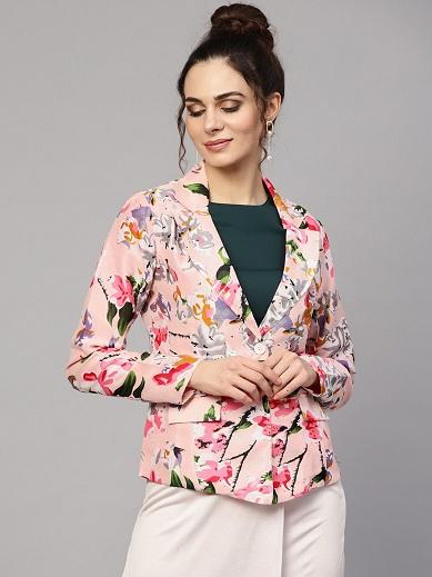 Floral Blazer For Women