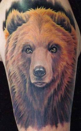 Bear Animal Tattoos
