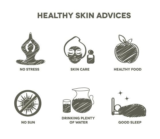 Healthy skin advantages