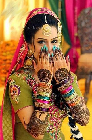 The Exquisite Pakistani Mehndi Design