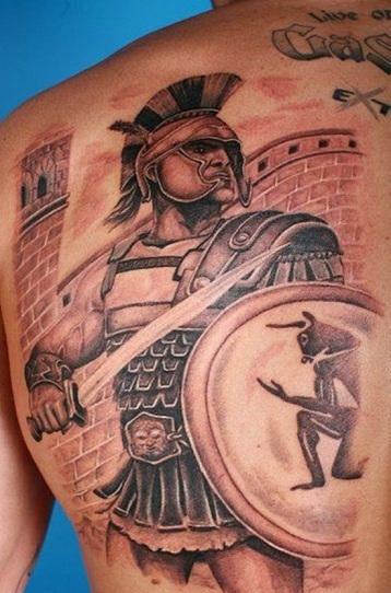 Warrior Tattoo 14