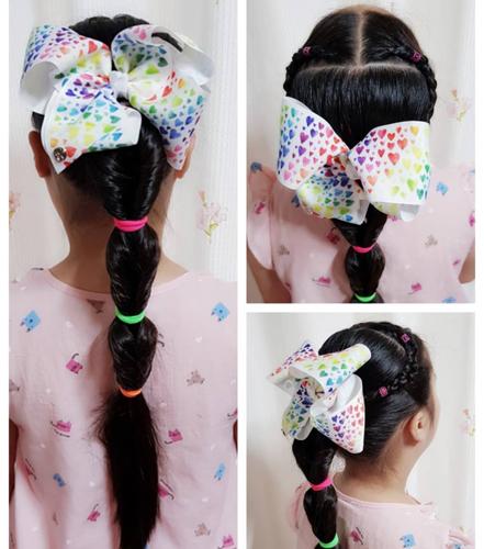 Bubble Braid Ponytail