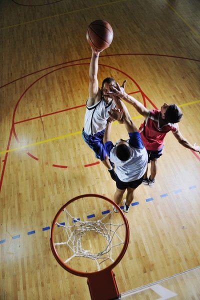 Basketball - long height exercise
