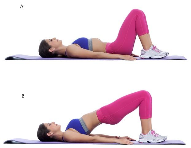 Pelvic Shift Or Hip Raises - height gain workout