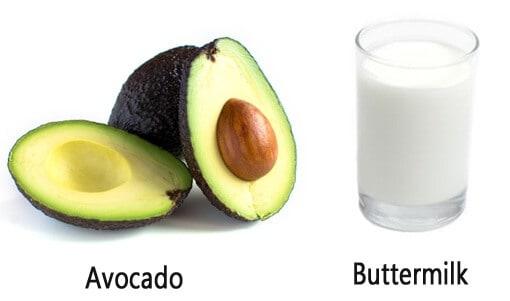 Buttermilk And Avocado Ripe Mask