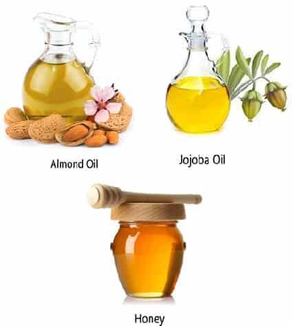 Honey Almond Oil And Jojoba Oil