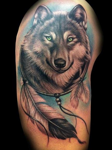 Dreamcatcher Tattoo Designs 13