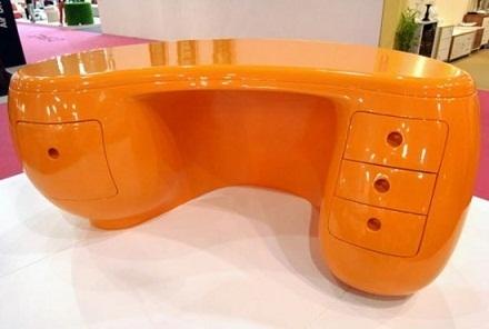 Plastic Office Table Design