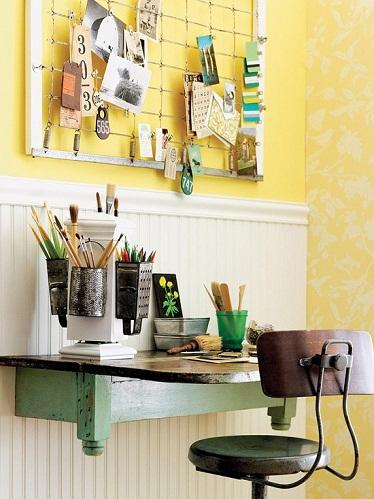 Artist Office Table Design