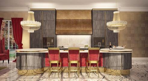 Luxury designer Kitchen
