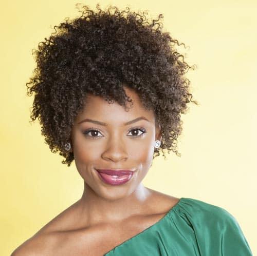 Retro Afro Hairstyle