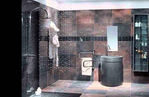 Slate Tile Bathroom