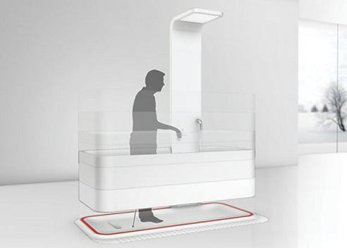 Elevated Bathtub Bathroom