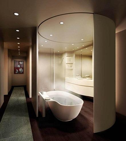 Contemporary classic bathrooms